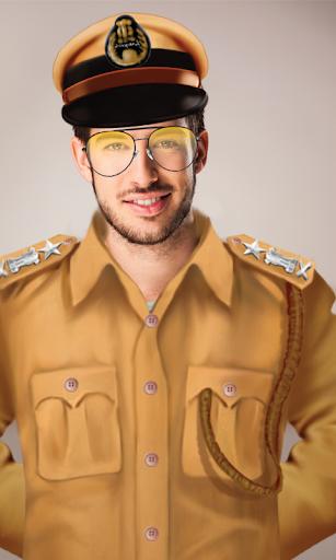 Police Thief Photo Suit