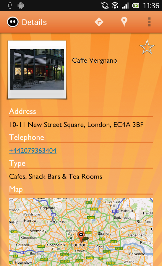 Rootle - Live Local Search - screenshot
