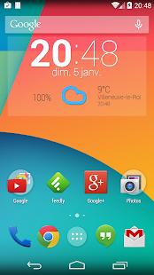 玩免費個人化APP|下載Easy Weather Clock Widget app不用錢|硬是要APP