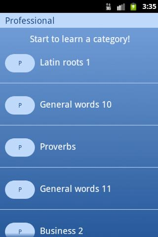 Vocab - screenshot