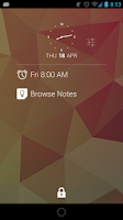 Screenshot of DashClock Keep Extension