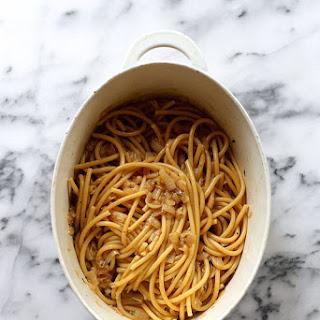 One-Pot French Onion Pasta.