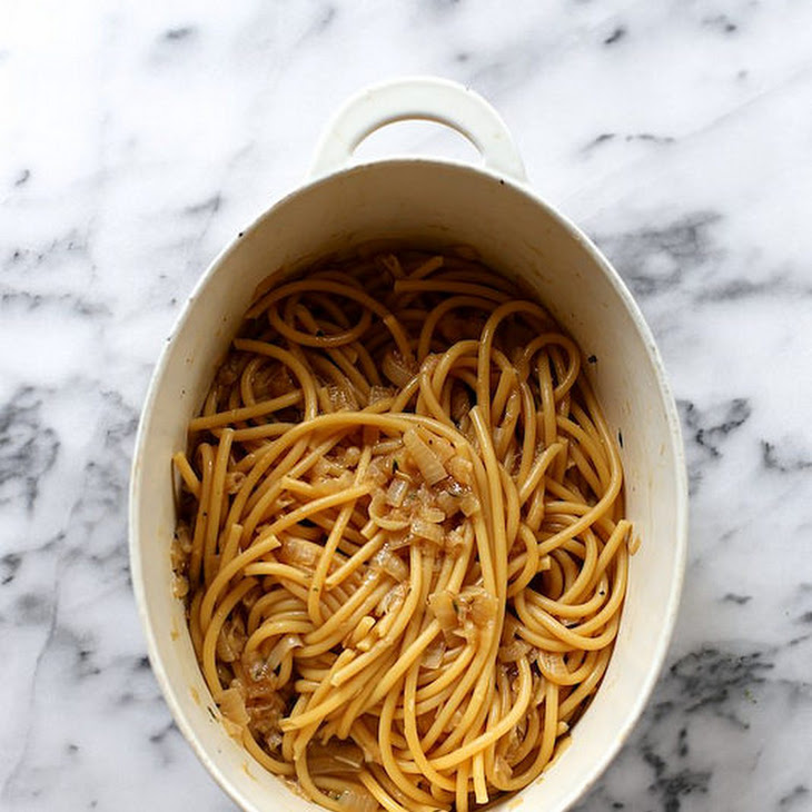 One-Pot French Onion Pasta Recipe