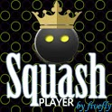 Squash player icon