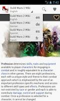 Screenshot of GW2Wiki
