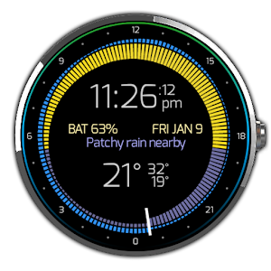 Krona Sunlight Watchface for Android