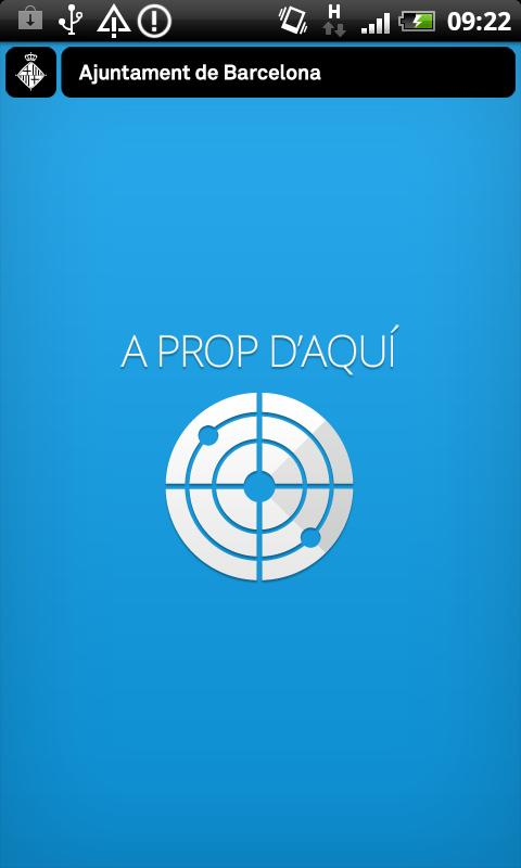 A prop d'aquí - screenshot