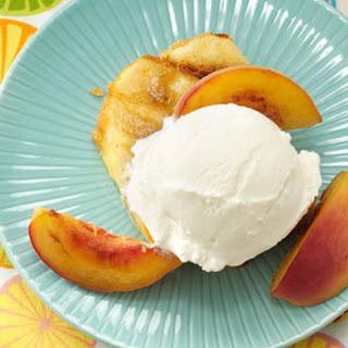 Grilled Peaches & Pound Cake.