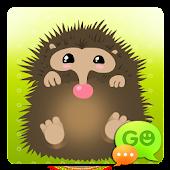 GO SMS Pro Hedgehog Theme