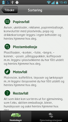Hentedager - screenshot