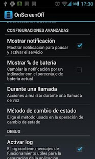 OnScreenOff battery saver - screenshot thumbnail