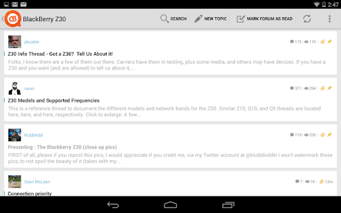 CrackBerry Forums- screenshot thumbnail