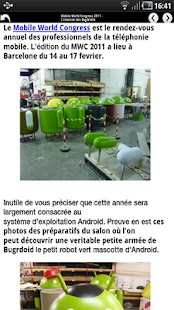 Android France [Android 1.x]] - screenshot thumbnail