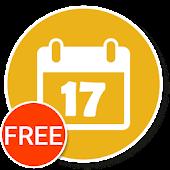 Calendar Widget+Status FREE