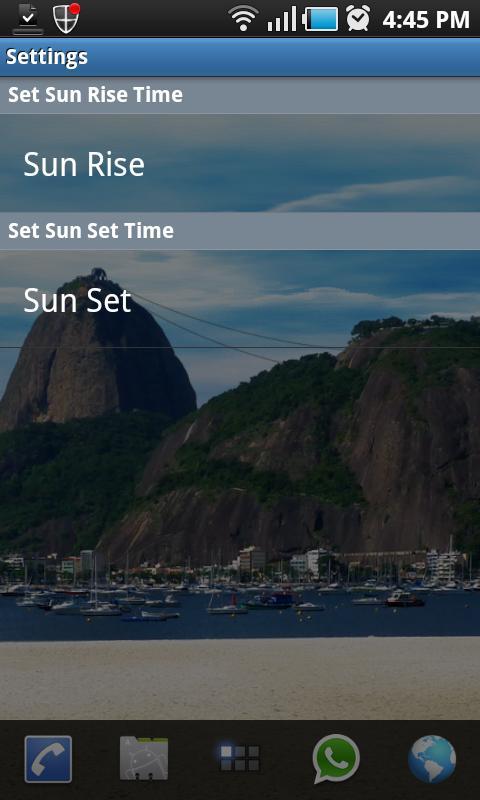 Rio Live Wallpaper Sugar Loaf- screenshot