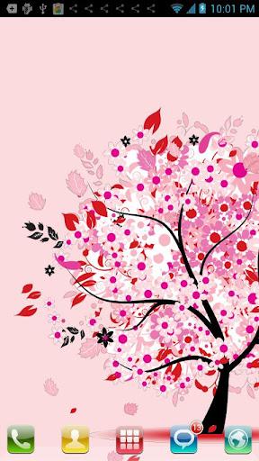 愛情樹動態壁紙