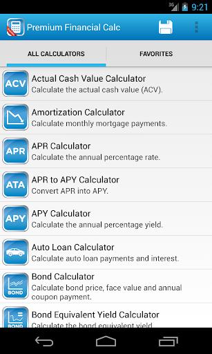 Premium Financial Calculators