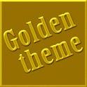 Golden GO Launcher EX Theme logo
