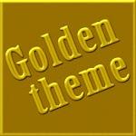 Golden GO Launcher EX Theme