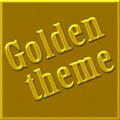 Golden GO Launcher EX Theme