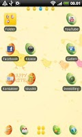 Screenshot of Easter GO Launcher EX Theme