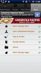 Casserole Recipes!! - screenshot thumbnail