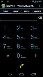 GrooVe IP - Free Calls Screenshot 1