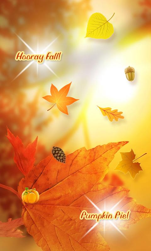 Fun Fall Live Wallpaper (2012) - screenshot