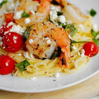 Mediterranean Shrimp Skillet.