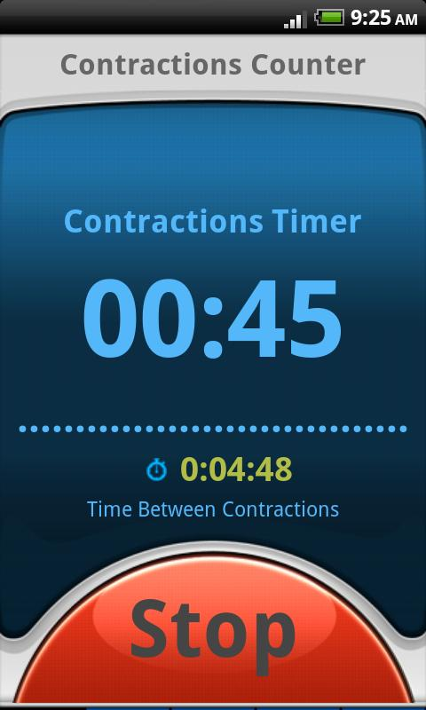 Contractions Counter: Pregnant - screenshot