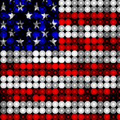 LED USA Flag Live Wallpaper