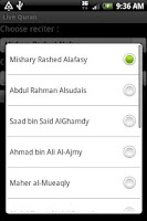 Screenshot of Quran Streamer