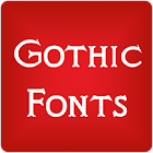 Gothic Fonts for FlipFont icon