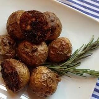 Rosemary and Lamb Crispy Roast Potatoes.