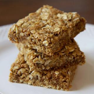 Gluten-Free Almond Oatmeal Protein Bars.