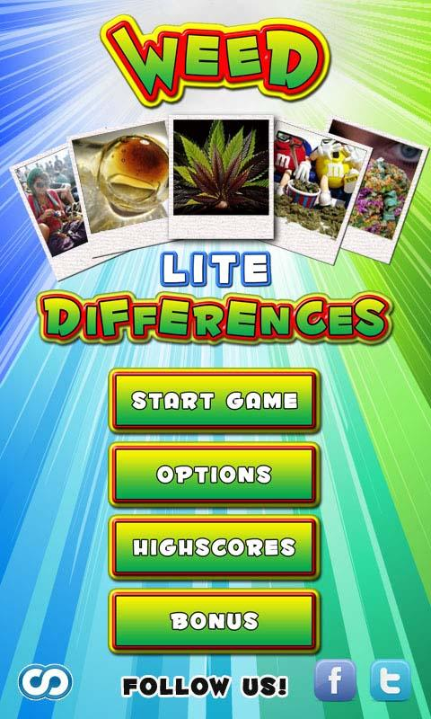 Weed Differences Lite - screenshot