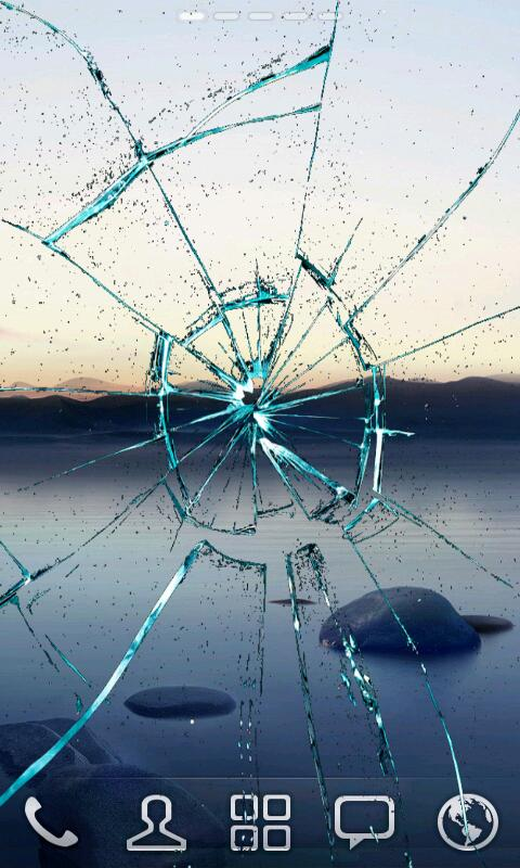 Cracked Screen - screenshot