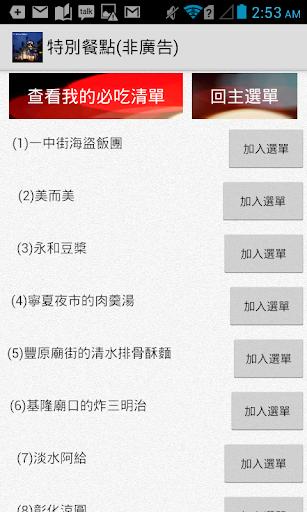 台灣必吃美食