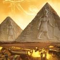 Egyptian pyramids simple LWP logo