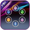 Xperia z1 smart launcher theme icon