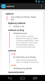 Cebuano-English Dictionary- screenshot thumbnail