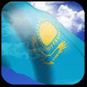 3D Kazakhstan Flag Anthem LWP logo