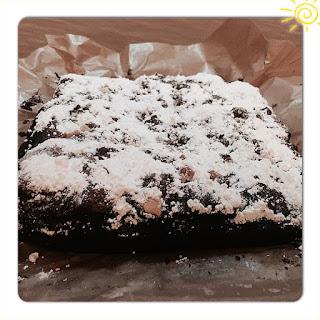 Chocolate & Fruits Cake.