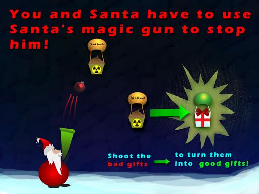 Santa Defends