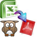 ExcelToPdf - Excel to PDF icon