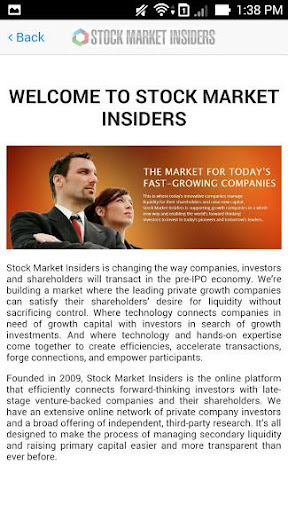 Stock market insiders