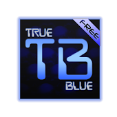 True Blue(free) Go Launcher