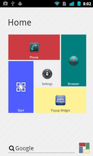 Light theme for SquareHome