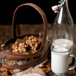 Pretzel & Peanut Crusted Cocoa Brownies