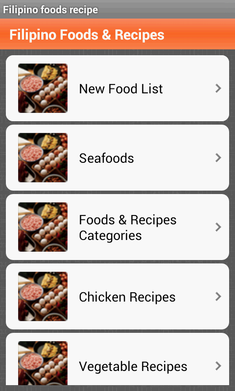 Filipino foods recipes android apps on google play filipino foods recipes screenshot forumfinder Image collections